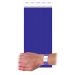 C Line Dupont Tyvek Purple Security Wristbands 100pk