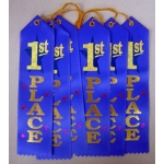 Award Ribbon 1st 6-Pk
