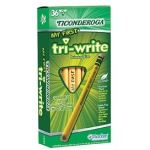 My First Tri Write 36ct Pencils With Eraser