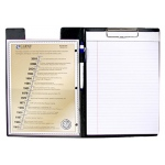 C Line Clipboard Folder Black