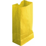 Colored Craft Bags Yellow