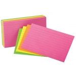 Oxford Glow Index Cards 3x5