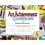 Certificates Art Achievement 30 Pk 8.5 X 11 Inkjet Laser