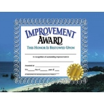 Improvement Award 30pk Certificates 8.5 X 11