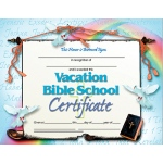 Vacation Bible School Set Of 30 Certificates