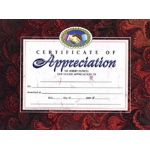 Certificates Of Appreciation 30 Pk 8.5 X 11