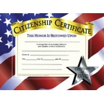 Certificates Citizenship 30 Pk 8.5 X 11
