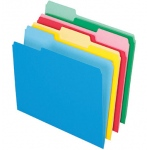 Pendaflex 24ct Essentials File Folders Assorted Letter Size