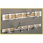 Map/display Rail End Cap Pair 1inch