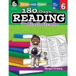 180 Days Of Reading Book For Sixth Grade