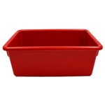 Cubbie Tray Red