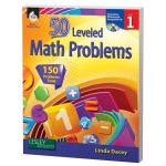 50 Leveled Math Problems Level Grade 1 W/ Cd