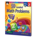 50 Leveled Math Problems Level Grade 2 W/ Cd