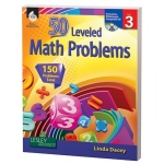 50 Leveled Math Problems Level Grade 3 W/ Cd
