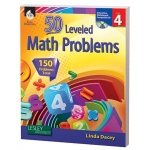 50 Leveled Math Problems Level Grade 4 W/ Cd