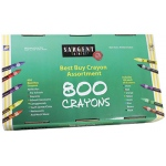 Sargent Art Best Buy Crayon 800 Assortment Std Crayons 100ea Color