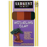 Sargent Art Modeling Clay Earth Tone Colors