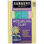 Sargent Art Modeling Clay Pastel Colors