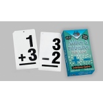 Double Value Vertical Flash Cards Addition Subtraction