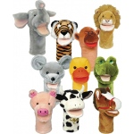 Plushpups Hand Puppets Set Of 10