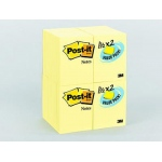 Post-It Notes Value Pk 24 Pads Canary Yellow 1 1/2 X 2
