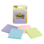 Post-It Notes Pastel 4 Pads 50 Sheets Each