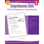 Comprehension Skills Gr 3 40 Short Passages For Close Reading