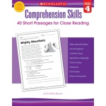 Comprehension Skills Gr 4 40 Short Passages For Close Reading