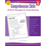 Comprehension Skills Gr 5 40 Short Passages For Close Reading