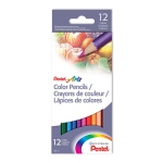 Pentel Color Pencils 12 Count