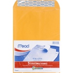 Mead Press It Seal It 5ct 9 X 12 Envelopes