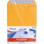 Mead Press It Seal It 4ct 10 X 13 Envelopes