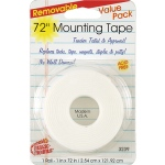Remarkably Removable Magic Mounting Tape Tabs And Chart Mounts 1x72