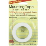 Remarkably Removable Magic Mounting Tape Tabs And Chart Mounts 1x48