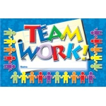 Incentive Punch Cards Teamwork 36/pk