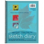 Art1st Sketch Diary 11 X 8 1/2 White 50lb