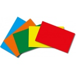 Border Index Cards 3 X 5 Blank Primary Colors 100ct