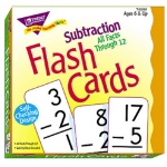 Flash Cards All Facts 169/box 0-12 Subtraction