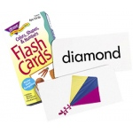 Flash Cards Colors Shapes 96/box Numbers
