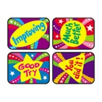 Applause Stickers Encourage 100/pk Excellence Acid-Free