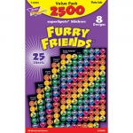 Furry Friends Superspots Stickers Value Pack