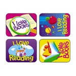 Applause Stickers Reading Fun 100pk Acid-Free