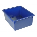 5in Stowaway Letter Box Blue No Lid 13 X 10-1/2 X 5