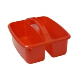 Large Utility Caddy Red