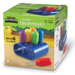 Primary Science Jumbo Eyedroppers Set Of 6 In A Stand