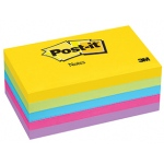 Post It Ultra Color Note Pads 3x5 5 Pads