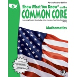 Gr 6 Parent Teacher Edition Math Show What You Know On The Common