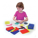 Rubbing Plates Teach Me Shapes 4 X 5-1/4 16pk