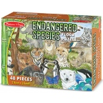 Endangered Species Floor Puzzle 48 Pcs