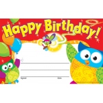 Happy Birthday Owl Stars Recognition Awards